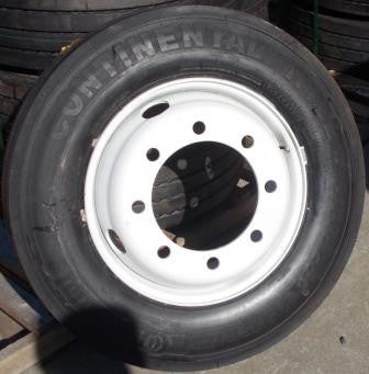 WT 215/75 R17.5 Dual Conti Wheel & Tire