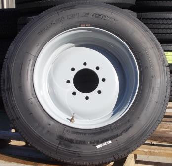 WT 215/75 R17.5 Single Wheel & Tire