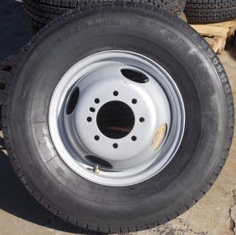 WT 235/80 R16 Dual Wheel & Tire