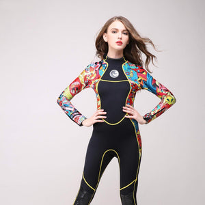 One Piece Neoprene Full Body Wet suit Stitching Surf Diving Equipment