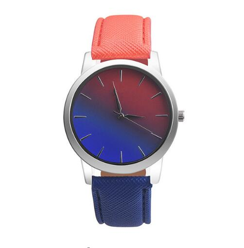 Gradient Rainbow Ladies Bracelet Watches