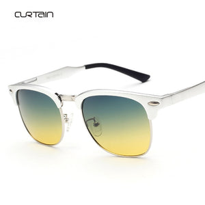 New Fashion HD Polarized Sunglasses Day and Night Driving Glasses UV400