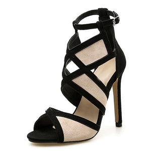 New Desiger Sexy Hollow out Buckle Strap High Heel Pumps