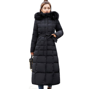 Padded Warm Thicken Long Parka Coat