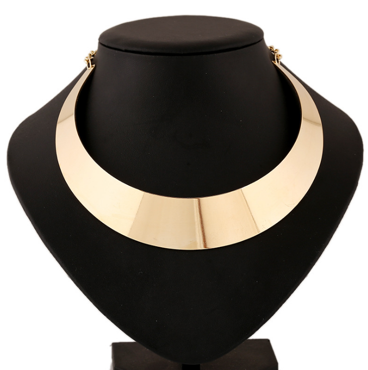 Chunky Punk Choker Collar Necklace