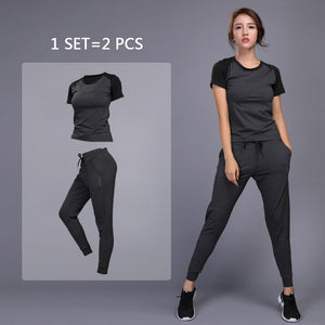 Sportswear Jogging Fitness Training Yoga Set