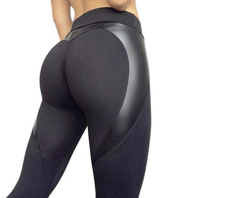 Sport Honeycomb Pattern Hips Running Jogging Tights
