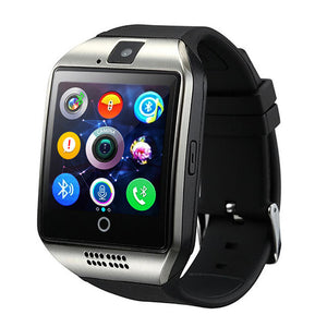 Smart Watch With Camera Facebook Whatsapp Twitter Sync SMS Smartwatch Support SIM TF Card For IOS Android