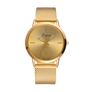 Casual Quartz Stainless Steel Watch