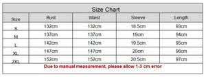 Loose Casual Streetwear Half Sleeve Print Character Turn Down Collar Button Shirt  Dress