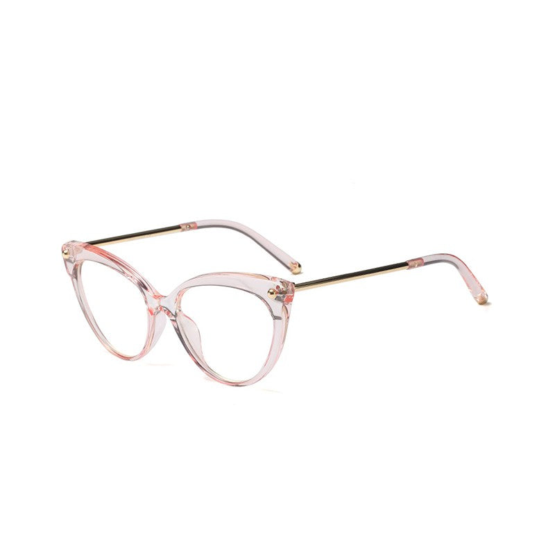 Cat Eye Frame Women Optical Glasses High Quality Metal Frame