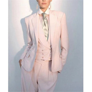 2019 New Three Pieces Formal Custom Made Pants Suit