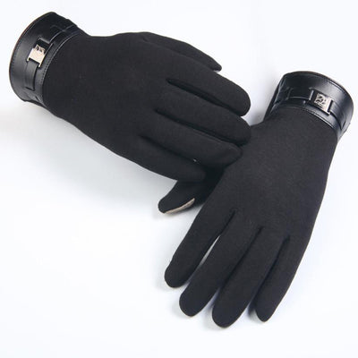 Winter Glove Men Full Finger Smartphone Touch Screen Gloves Cashmere Mittens guantes hombre Amazing