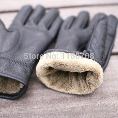 2015 New Winter Men's Fashion Cape glove With a Soft Fluff and Thicken Gift Box