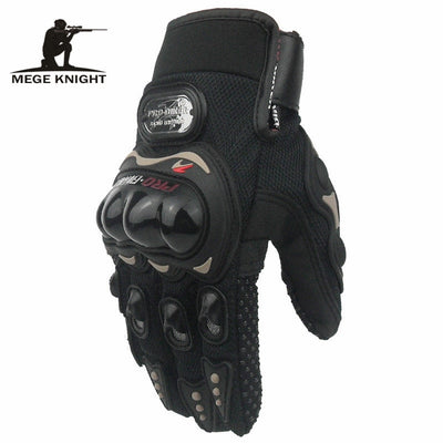 MEGE Military Army Airsoft Paintball Shooting Gloves, Men's Protection Gloves Shell Gloves, Tactical SWAT Full Finger