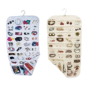 Earring Bag 80 Pockets Jewelry Hanging Storage Organizer Holder Transparent Business Membership Card Holding Bag
