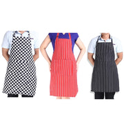 Stripe Aprons Bib Apron with 2 Pockets Chef Waiter Kitchen Cook Tool,cooking apron,Home Cleaning Tools aprons for woman man