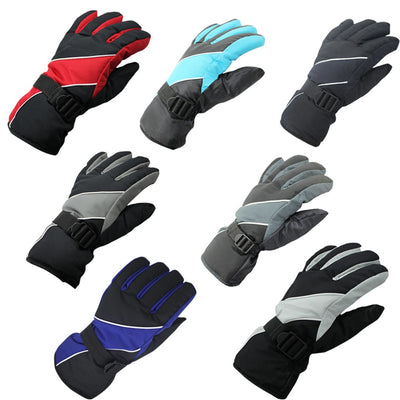 Women Men Winter Warm Gloves Waterproof Gloves Snowboard Outdoor Ski Athletic Mittens H9