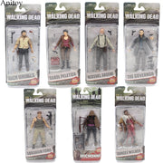 AMC TV Series The Walking Dead Abraham Ford Bungee Walker Rick Grimes The Governor PVC Action Figure Collectible Toy KT1601