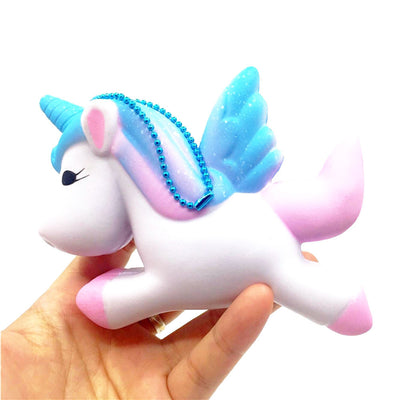 Exquisite Fun Cute Unicorn Scented Squishy Charm Slow Rising 11cm Simulation Toy