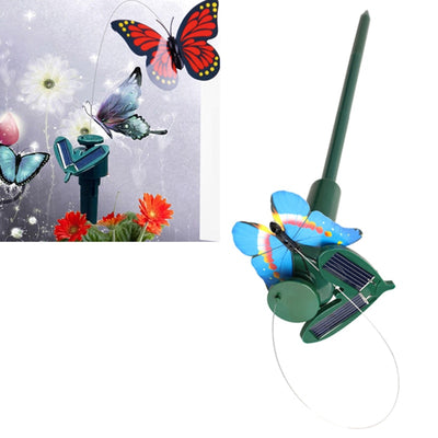 Garden Decoration Solar Powered Dancing Flying Butterflies Toys for Garden Landscape Decorative Butterflies