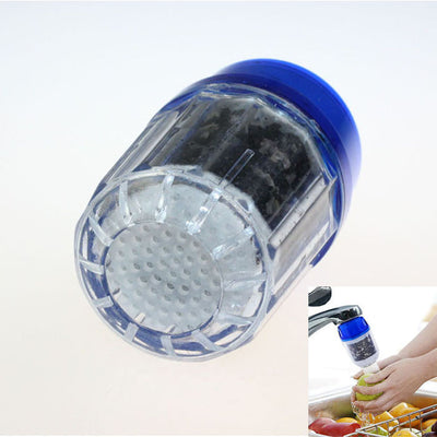 Healthy Water Purified Faucet Tap Bamboo Charcoal Purifier Filter Head