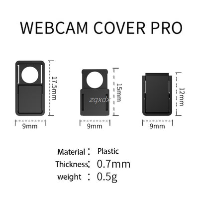 3pcs Webcam Cover Privacy Protection Case For Laptop PC Notebook Tablet Book Z07 Drop ship