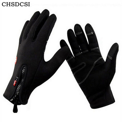 CHSDCSI 2018 Windproof luvas de inverno Tactical Mittens for Men Women Warm gloves tacticos fitness luva winter guantes moto