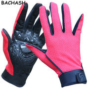 BACHASH Professional Solid Crossfit Men Fashion Gloves Women And Men Skid Mesh Mountain Mittens Luvas Academia S-XL 2018