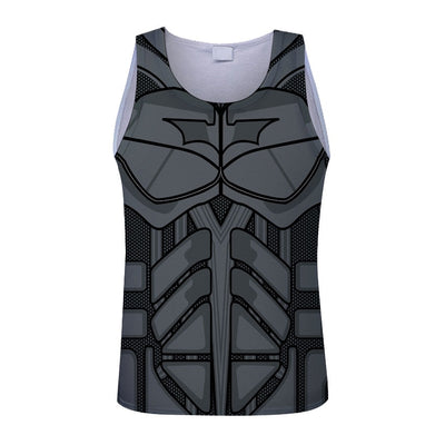 Impression style men 3d vest printing spider-man/Spider-man/captain America summer cool slim tank tops tees Asia size