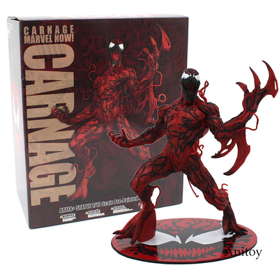 The Amazing Spider-Man Venom Carnage ARTFX + STATUE 1/10 Scale Pre-Painted Figure Model Kit 17cm
