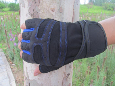 Free Shipping Outdoor driving tactical exercise half finger fitness sports fingerless microfiber mens&womens training gloves