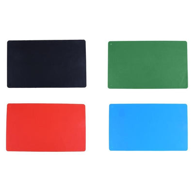 1Pcs 36x22cm Waterproof Dining Table Mat Placemat Silicone Resistant Non Slip Table Place Mat Dish Bowl Heat Resistant Pad