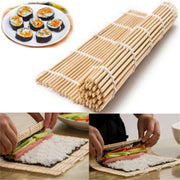 Sushi Rice Roll Maker Bamboo Tool Roller Kit DIY