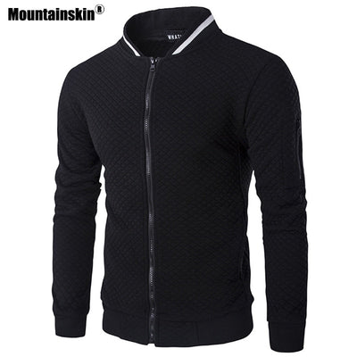 Mountainskin Men's Hoodies Spring Autumn Long Sleeve Jackets Casual Coat Sportswear Mens Brand Clothing Male Sweatshirt SA564