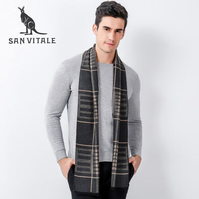 Scarves Men Scarf Top Quality Ponchos And Capes Classic Style High Quality For Ladies Designer Casual Clothing Accessories Plaid
