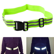 New Outsport High Visibility Reflective Safety Security Belt For Night Walking Biking Safety & Reflective Gear