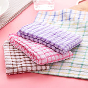 1PC High Efficient Absorbent Anti-grease Color Dish Cloth Fiber Washing Towel Magic Kitchen Microfiber Cleaning Wiping Rags