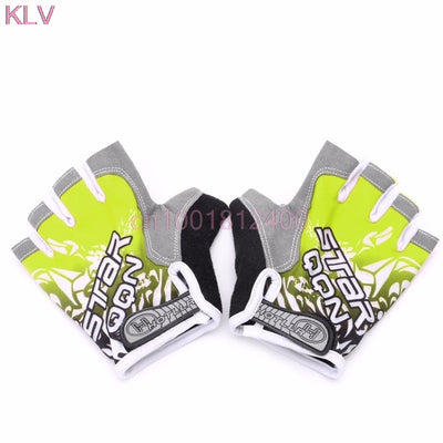 Fashion Finger Glove GEL Glove Shockproof Sports Half Finger Glove M L XL