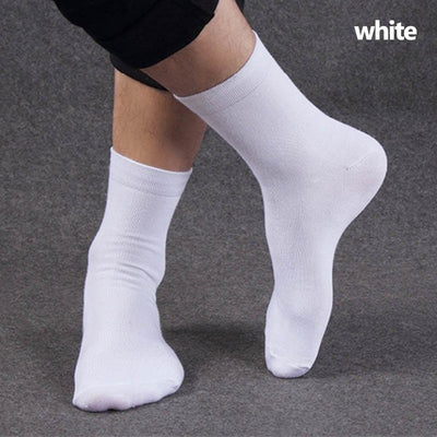High Quality Men's Business Cotton Socks For Man Brand Autumn Winter Black Men's Socks Male White Casual Socks