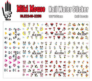 11 Sheets/Lot Nail Art BLE2248-2258 Cartoon Mouse Nail Art Water Transfer Sticker for Nail Wraps(11 DESIGNS IN 1)
