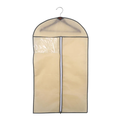 3 Colors 3 Sizes Breathable Zipper Type Suit Cover Hanging Garment Clothes Protector Bags Home