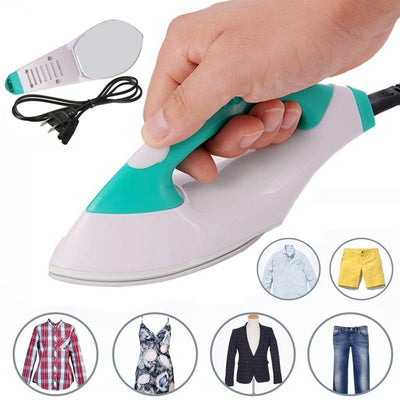 Mini Portable Electric Steam Iron for Clothes Dry Travel Handheld Steam Irons