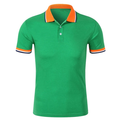 New Fashion Men Polo Shirt Business & Casual Plus Size 3XL 10Colors Male Polo Shirt Short Sleeve Breathable Shirt Men T6