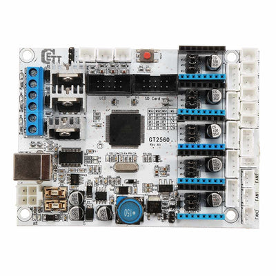 GT2560 Control Board 3D Printer Controller Board 5 stepper motors for ATMEGA 2560 I3 Delta 16MHZ 3D Printer Board