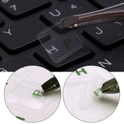 Russian Transparent Stickers Waterproof For PC Laptop Table Keyboard Letters