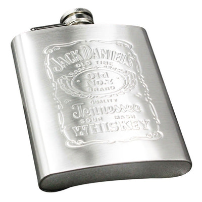 7oz Stainless Steel Hip Liquor Whiskey Alcohol Pocket Flask with Portable Funne