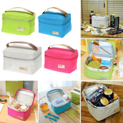 Portable Lunch Bag Thermal Insulated Warm Lunch Bags for Girls Women Men Cooler Thermal Food Lunch Bags Picnic Supplies