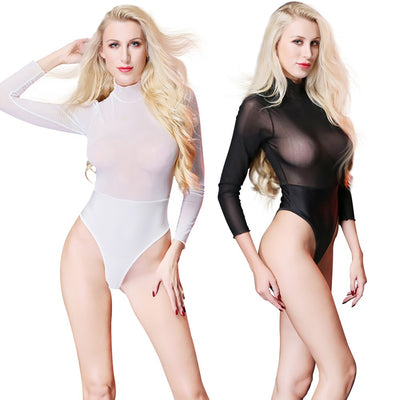 Women Sexy Clubwear Tight Temptation High Elastic Perspective Lingerie