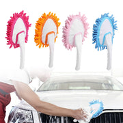 4 Color Microfiber Telescopic Dusters Plastic Handle Chenille Dust Cleaning Brush Home Car Washing Household Cleaner Tool